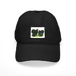 Black Frizzle Cochins Black Cap