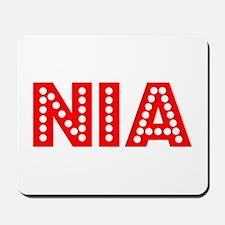 Retro Nia (Red) Mousepad