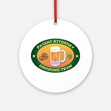 Patent Attorney Team Ornament (Round)