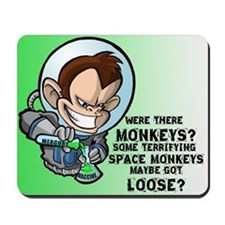 Space Monkey Mousepad