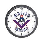 The Master Masons Wall Clock