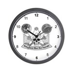 Masonic Virtue Wall Clock