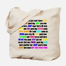 Cool Agility support Tote Bag