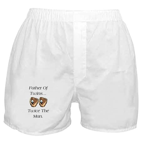 Father of Twins Boxer Shorts