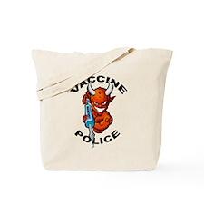 Vaccine Police Tote Bag