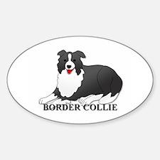 Cartoon Border Collie Decal