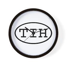TIH Oval Wall Clock