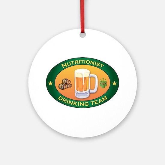 Nutritionist Team Ornament (Round)