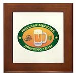Nuclear Medicine Team Framed Tile