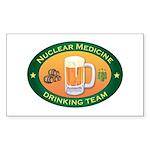 Nuclear Medicine Team Rectangle Sticker