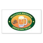 Nuclear Medicine Team Rectangle Sticker 50 pk)