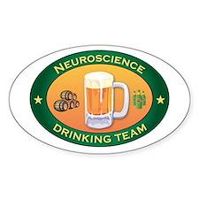 Neuroscience Team Oval Decal