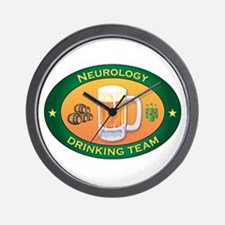 Neurology Team Wall Clock