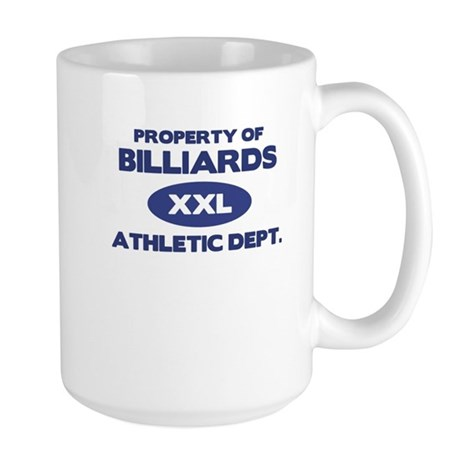 Billiards Large Mug