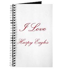 I Love Harpy Eagles Journal