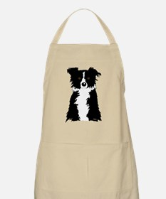 Border Collie BBQ Apron