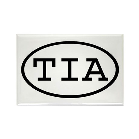 TIA Oval Rectangle Magnet (100 pack)