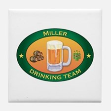 Miller Team Tile Coaster