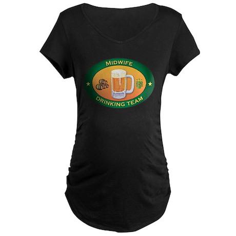 Midwife Team Maternity Dark T-Shirt