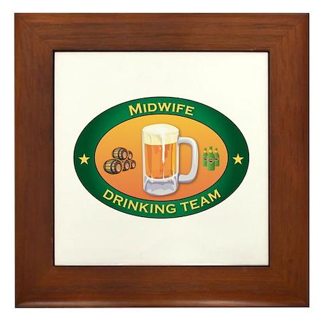 Midwife Team Framed Tile