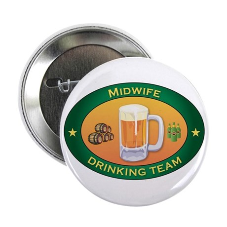 """Midwife Team 2.25"""" Button (10 pack)"""