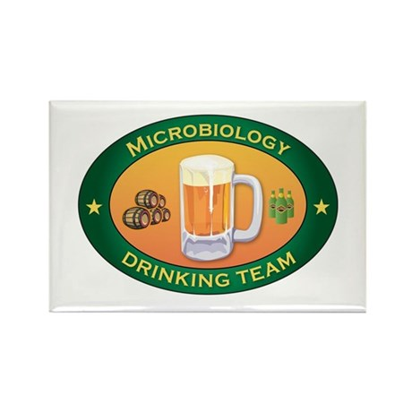 Microbiology Team Rectangle Magnet (100 pack)