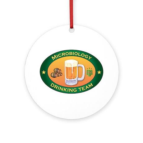 Microbiology Team Ornament (Round)