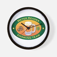 Meter Reader Team Wall Clock