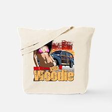 Woodie Girl Tote Bag