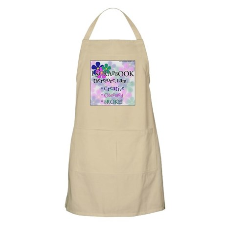 I Scrap, Therefore BBQ Apron