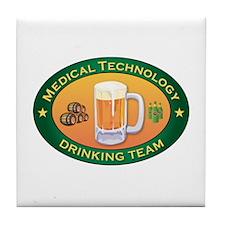 Medical Technology Team Tile Coaster