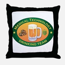 Medical Technology Team Throw Pillow