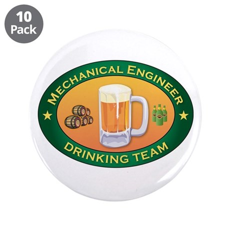 "Mechanical Engineer Team 3.5"" Button (10 pack)"