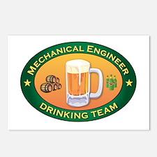 Mechanical Engineer Team Postcards (Package of 8)