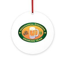 Mechanical Engineer Team Ornament (Round)