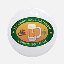 Mechanical Engineer Team Ornament (Round)