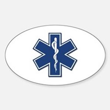 EMT Oval Decal