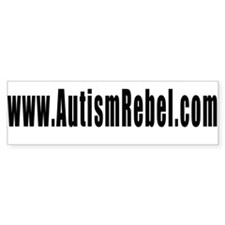 Autism Rebel Bumper Bumper Sticker