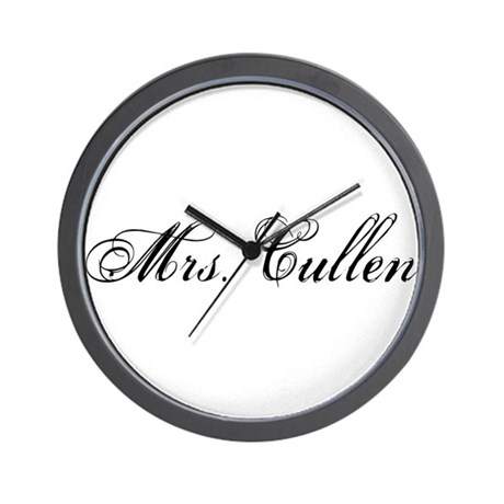 Mrs. Cullen Wall Clock