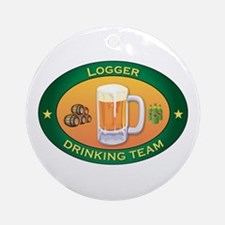 Logger Team Ornament (Round)