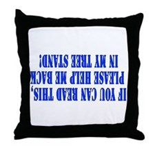 If you can read this hunting Throw Pillow