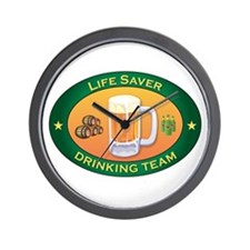 Life Saver Team Wall Clock