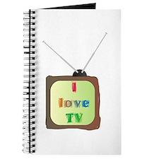 I Love TV Journal