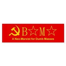 Obama for Dumb Masses Bumper Bumper Sticker