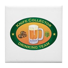 Knife Collector Team Tile Coaster