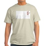 Love a Deaf Dog Today! Ash Grey T-Shirt