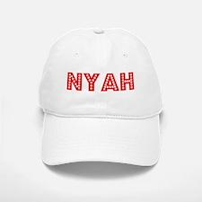 Retro Nyah (Red) Baseball Baseball Cap