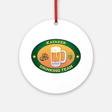 Kayaker Team Ornament (Round)