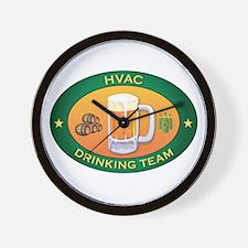 HVAC Team Wall Clock