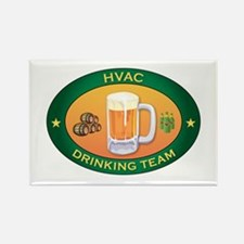 HVAC Team Rectangle Magnet
